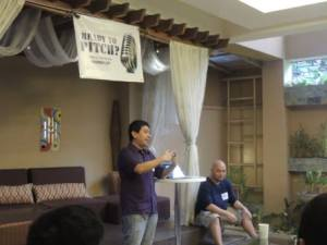 As per open coffee tradition, 199jobs.com's main man Glenn Santos starting things out with startup related news...