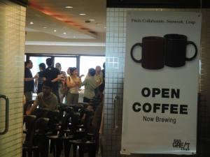 October open coffee