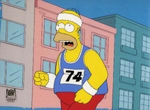 homer running